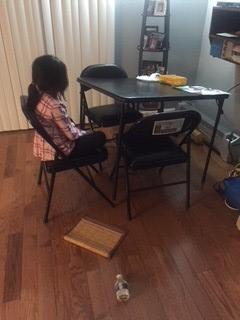 Broken table