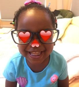 Bug in glasses